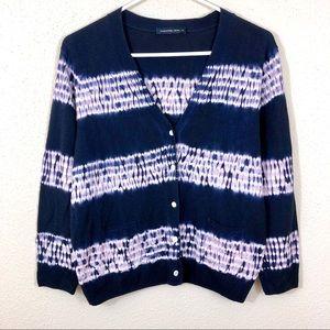 Samantha Sung Cashmere Silk Cardigan Sweater